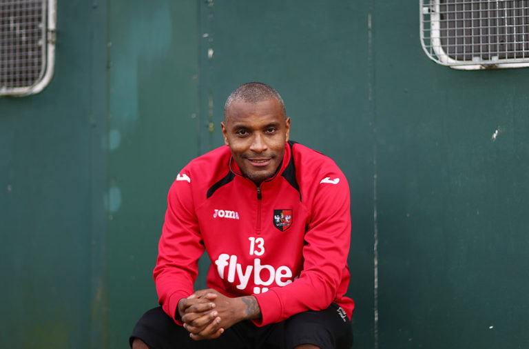 Clinton Morrison has said that the Anfield atmosphere outstrips Old Trafford's.
