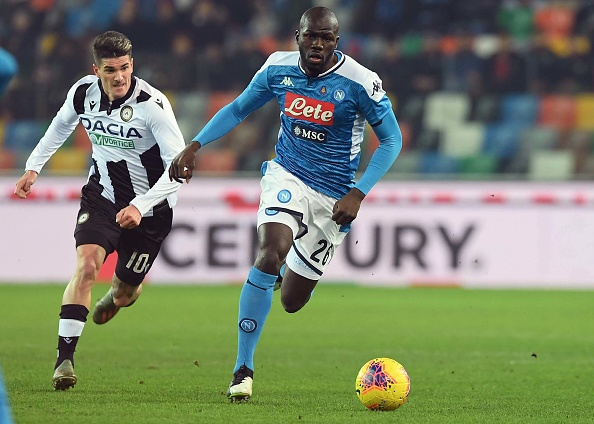 Napoli are reportedly open to selling Kalidou Koulibaly.