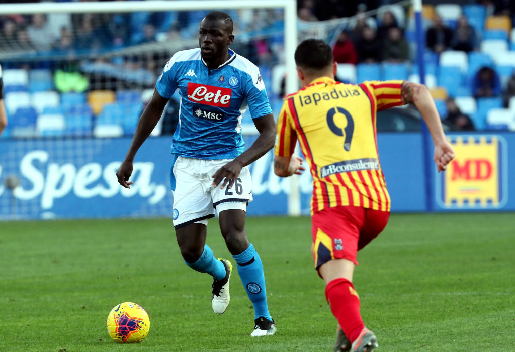 Kalidou Koulibaly in action for Napoli.