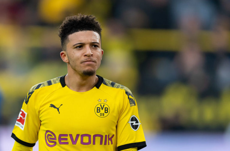 Liverpool reportedly don't see the value in Jadon Sancho.