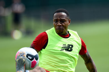 Nathaniel Clyne could yet play for Liverpool.