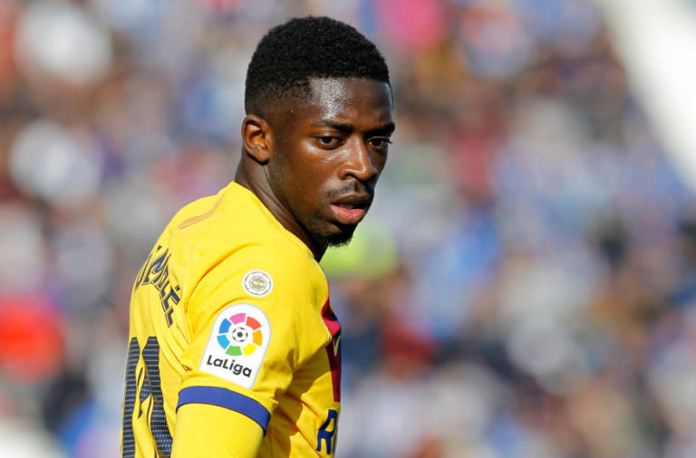 Ousmane Dembele is Liverpool's Timo Werner alternative.