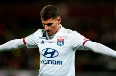Houssem Aouar could leave Lyon.