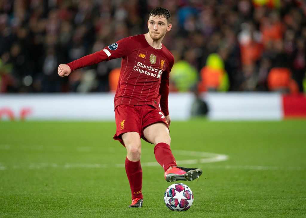 Andy Robertson is surely the best left-back around.