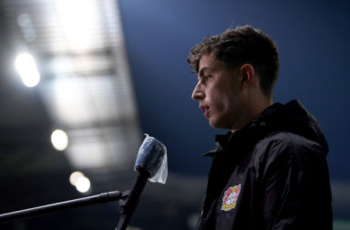 A new report claims Liverpool are still tracking Kai Havertz.