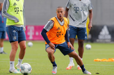 Thiago is fit to play the DFB-Pokal final.