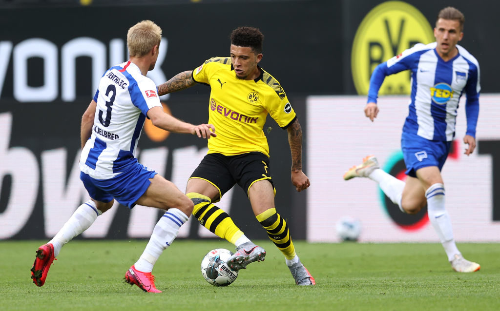 Jadon Sancho would fetch a very high price.