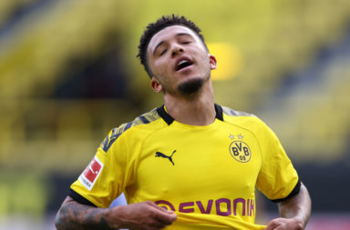 Liverpool haven't made a move for Jadon Sancho.