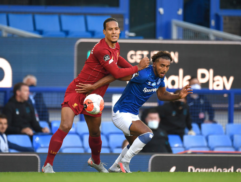 Virgil van Dijk looked solid again.