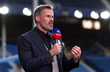 Jamie Carragher says Liverpool have work to do to be an English great.
