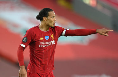 Virgil van Dijk helped Liverpool win the Premier League title.
