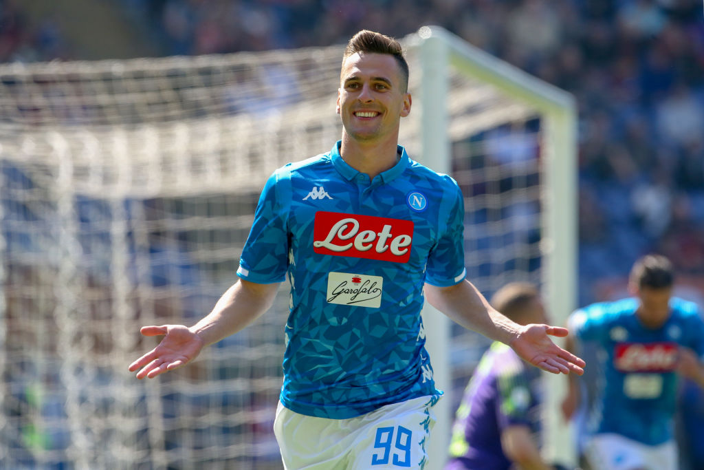 Liverpool should turn to Arkadiusz Milik next summer, he's available on a free.