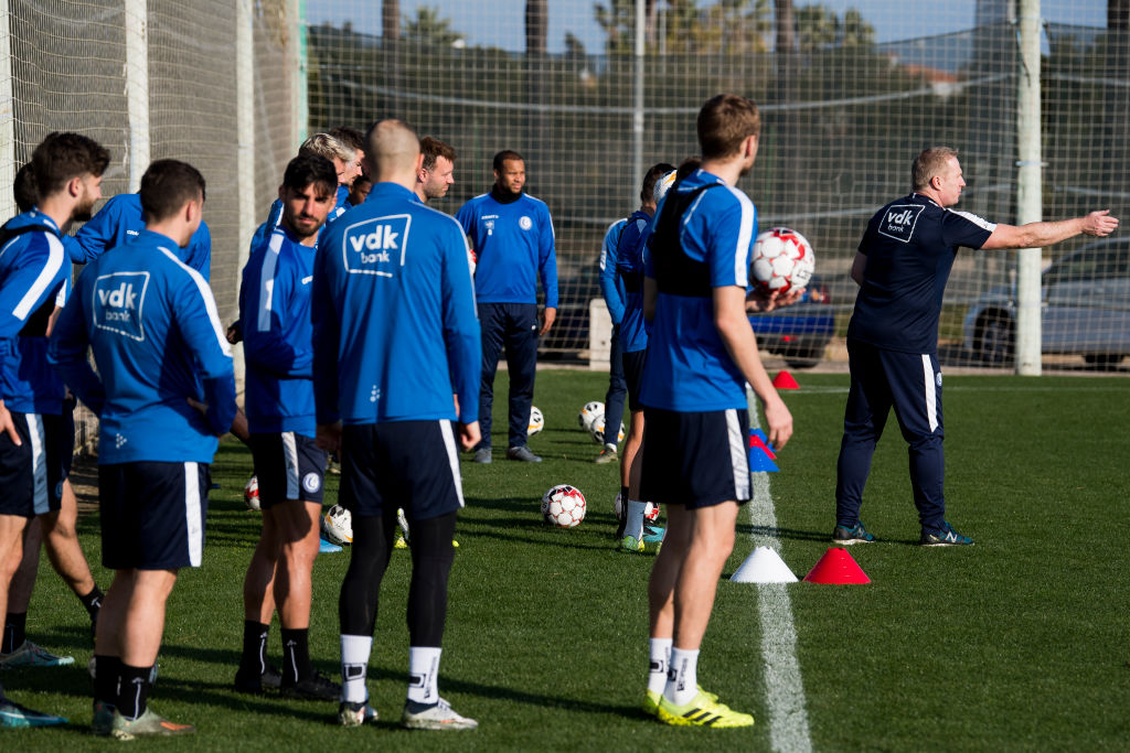 SOCCER SPAIN WINTER CAMP KAA GENT WEDNESDAY