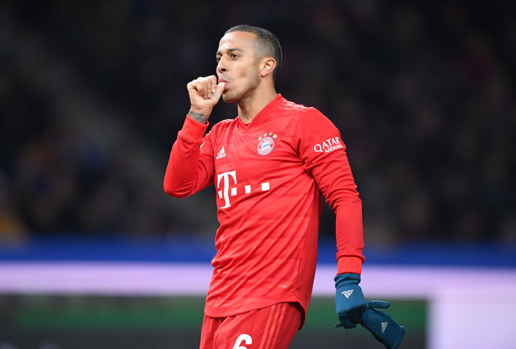 Liverpool are reportedly 'very likely' to sign Thiago Alcantara.