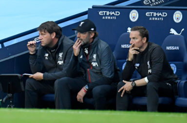Jurgen Klopp made his plans clear against Manchester City.