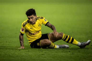 Jadon Sancho is a Manchester United target.