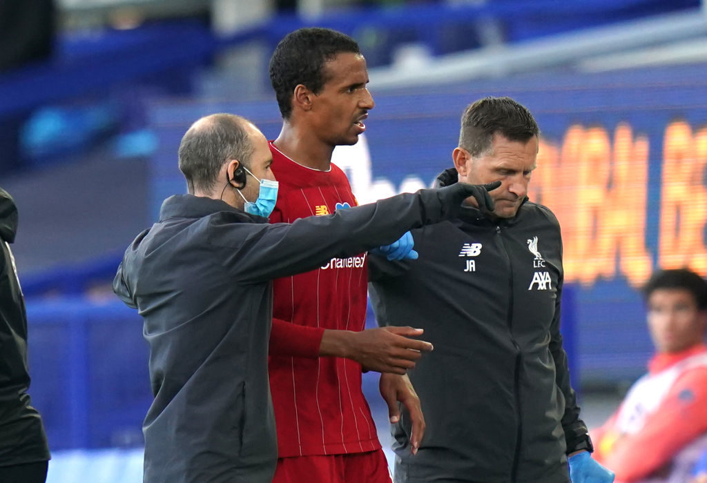 Joel Matip is the only injury doubt for Liverpool.