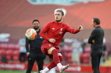 Liverpool signed Harvey Elliott last year.