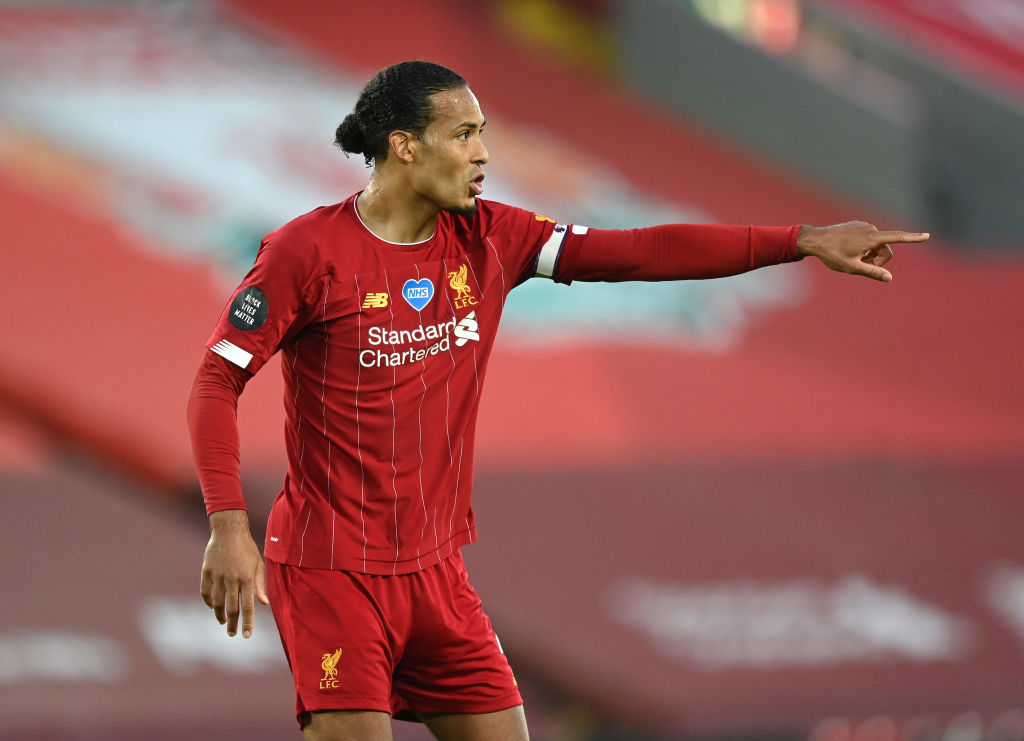 Liverpool fans have been drooling over a move by Virgil van Dijk against Brighton