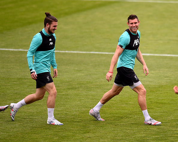 James Milner could feature against Manchester City.