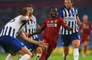 Naby Keita shone for Liverpool against Brighton
