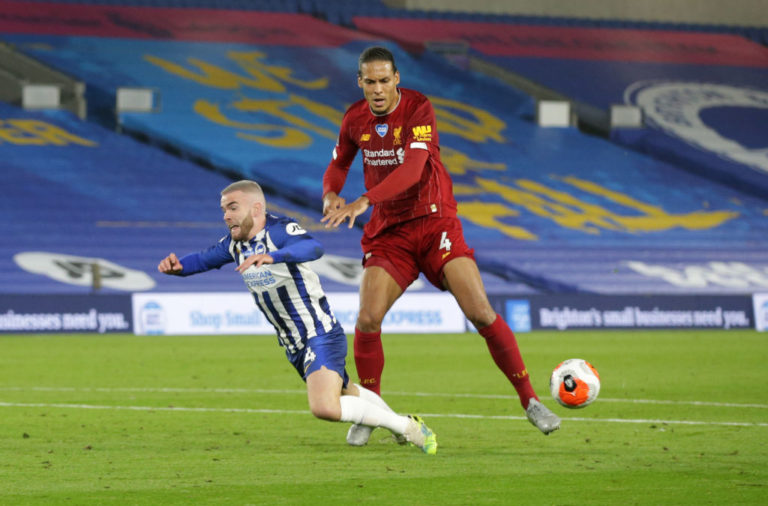 Liverpool fans have been drooling over a move by Virgil van Dijk against Brighton.