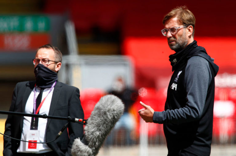 Jurgen Klopp committed to his transfer promise.