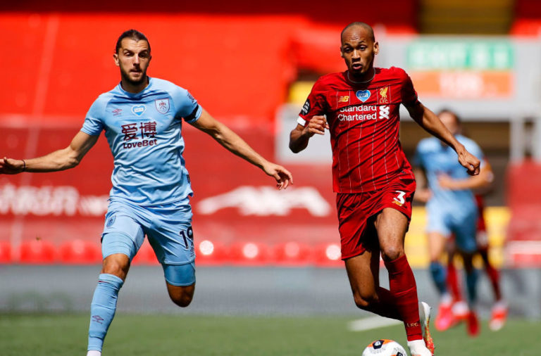 Fabinho played very well again v Burnley.