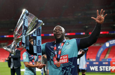 Twitter has reacted after Jürgen Klopp congratulated Adebayo Akinfenwa on his promotion.