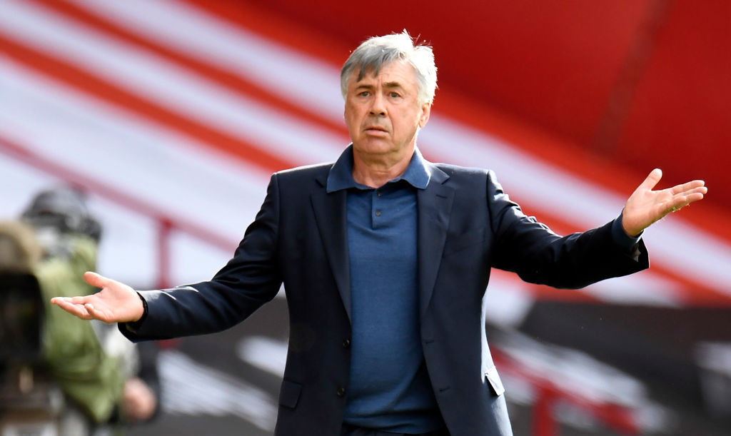 Carlo Ancelotti has said that he is 'confident' heading into the Merseyside Derby.