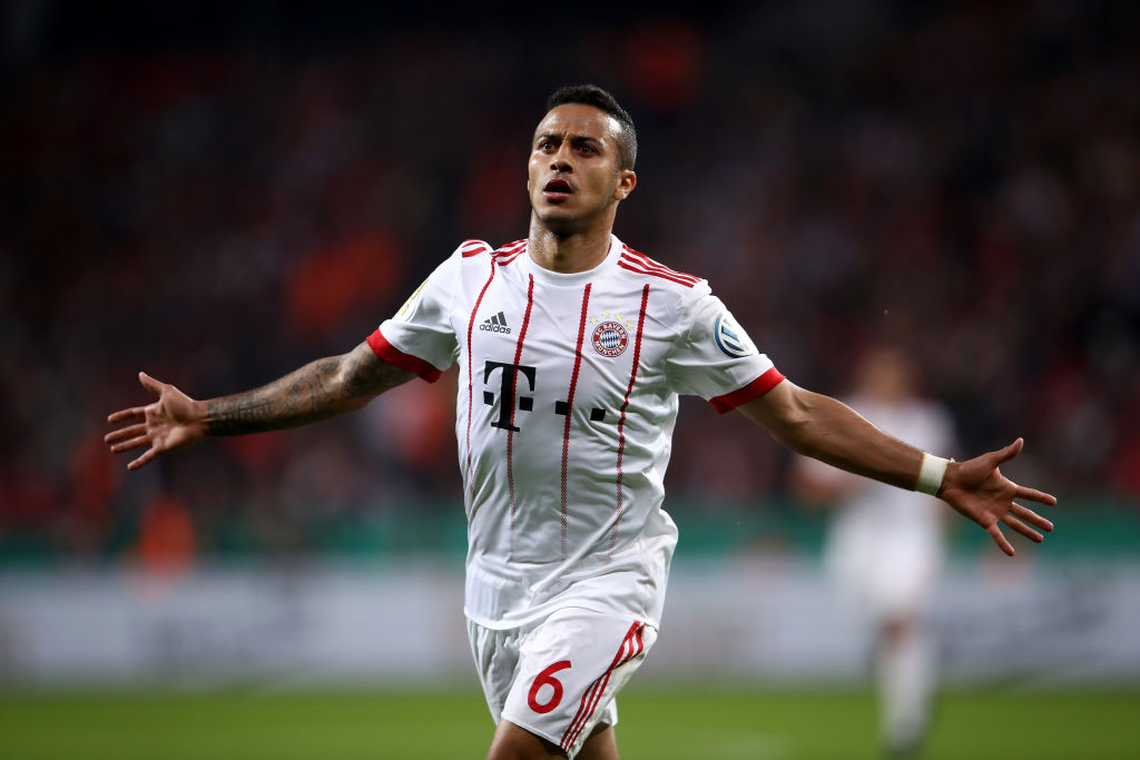 "Lothar Matthäus has said he is ""pretty sure"" Thiago Alcantara will leave Bayern Munich."