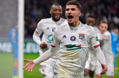 Liverpool target Houssem Aouar can leave Lyon this summer.