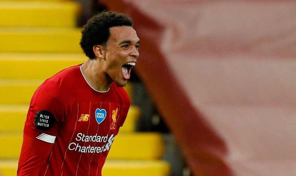 Alexander-Arnold was this week named PFA Young Player of the Year