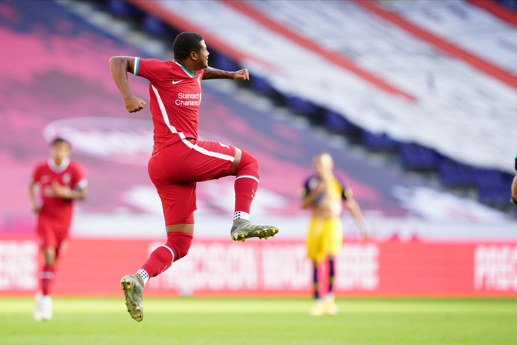 FC Red Bull Salzburg v FC Liverpool - Friendly Match - Rhian Brewster