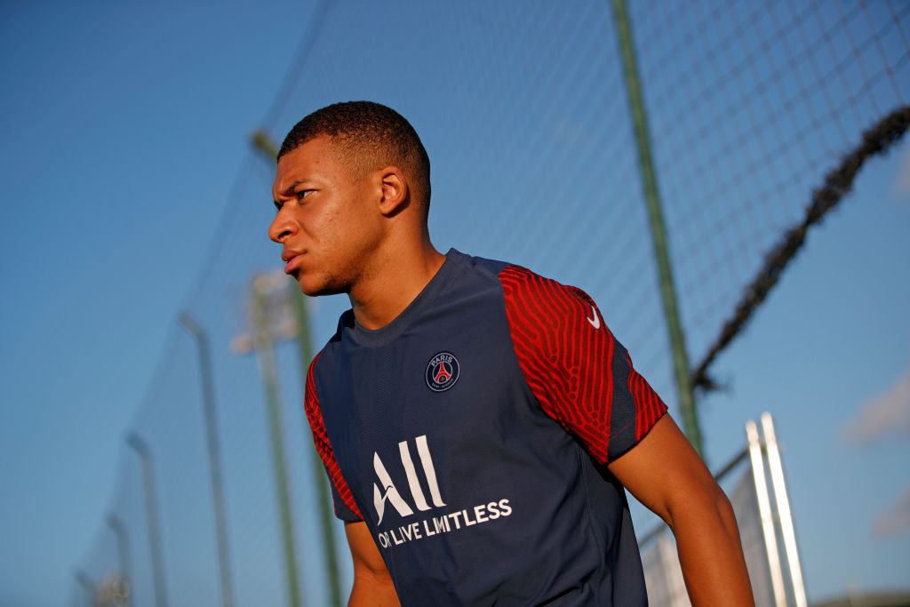 The Guardian has reported that Kylian Mbappe is open to joining Liverpool at the end of the season.