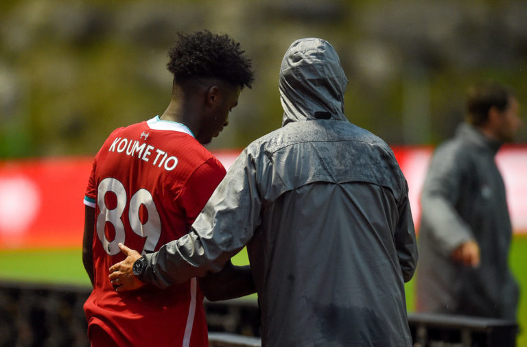 Pep Lijnders has heaped praise on Billy Koumetio, one of the Reds' most promising wonderkids.