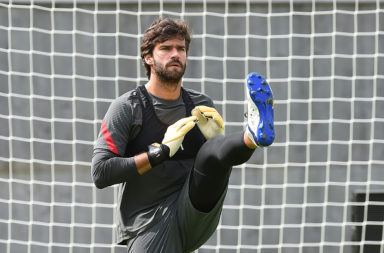 Alisson has commented on his recent injury.