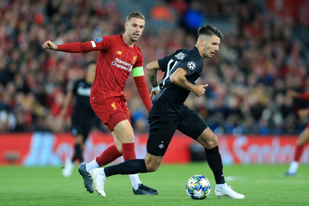 Liverpool FC v RB Salzburg: Group E - UEFA Champions League - Dominik Szoboszlai