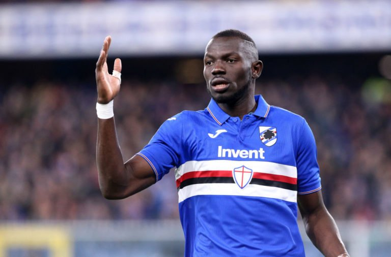 Omar Colley of Uc Sampdoria  during the Serie A match