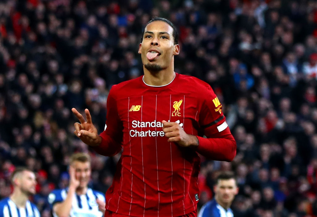 Virgil van Dijk starts in the confirmed Liverpool lineup to face Leeds United.