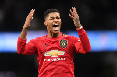 Liverpool fans should give Marcus Rashford a standing ovation when fans are next allowed back into Anfield