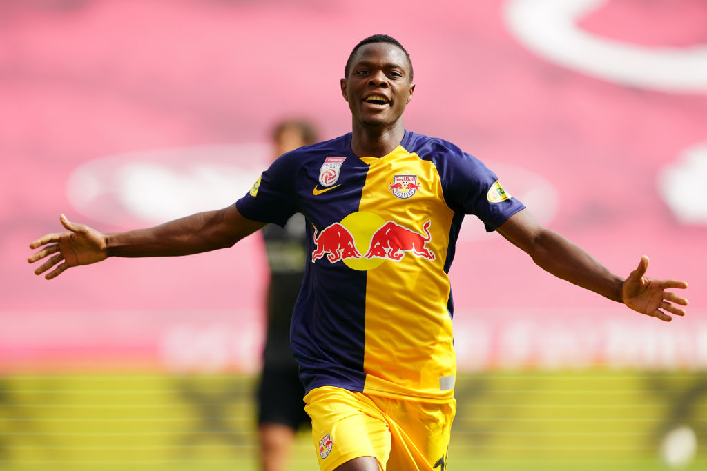 Liverpool could have the edge in the race for Patson Daka.
