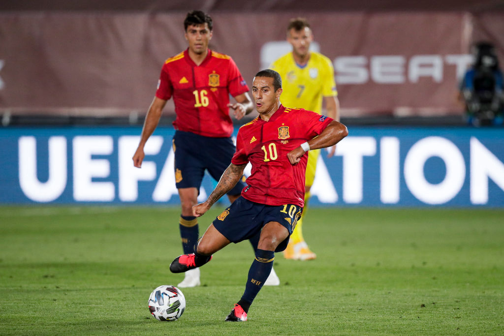 Spain  v Ukraine  -UEFA Nations league