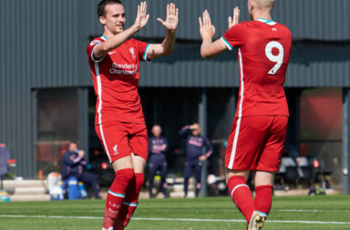 Liverpool U23s pressed high against Manchester United and it worked to great effect.