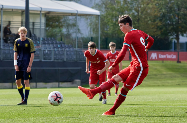 Liverpool could have another Scouse superstar on their hands in the form of Layton Stewart.