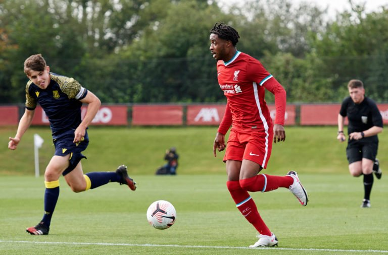 Liverpool v Stoke City: U18 Premier League