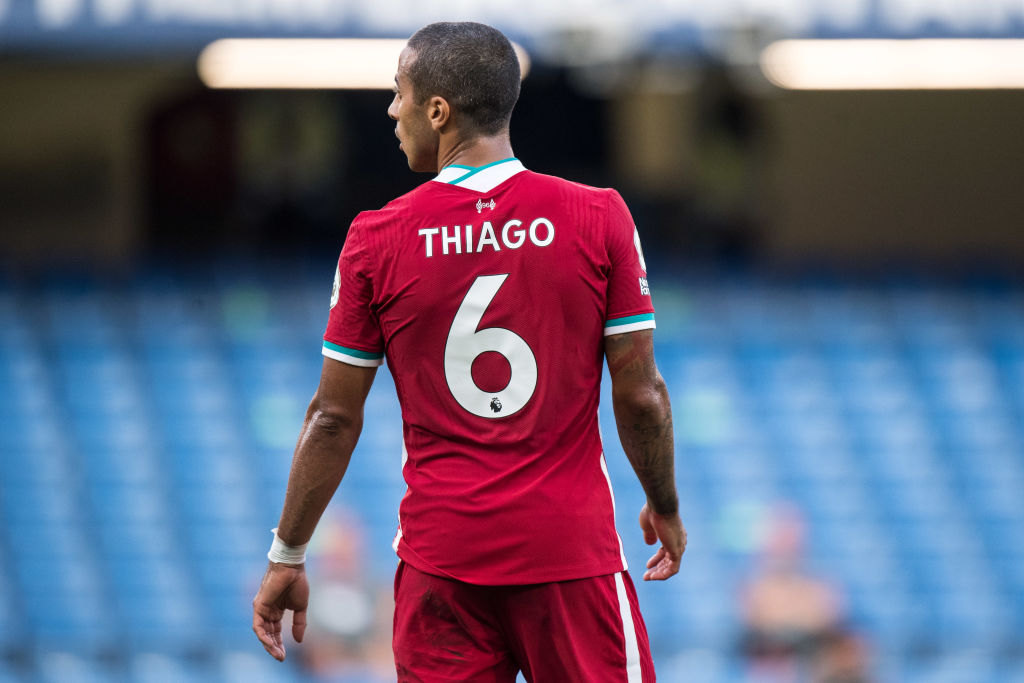 Liverpool battered Arsenal and they didn't even have Thiago playing.