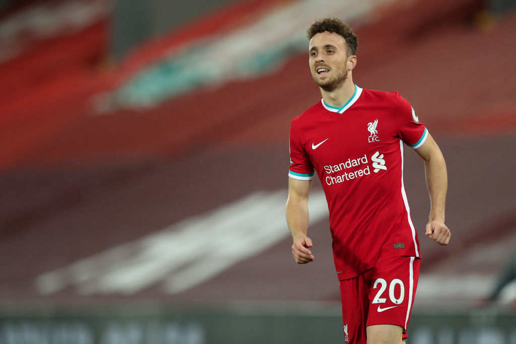 Diogo Jota, like Sadio Mane, scored against Arsenal on his Premier League debut for Liverpool.