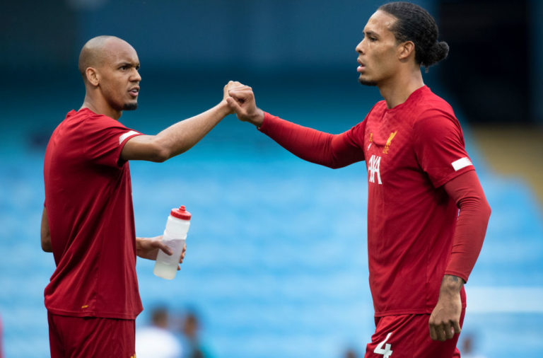 Liverpool should consider making Fabinho the first choice partner for Virgil van Dijk.