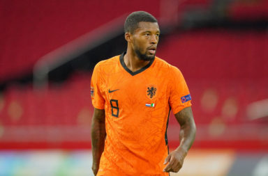 According to a report in the Mirror, Barcelona have been blocked from signing Gini Wijnaldum by La Liga's financial rules.